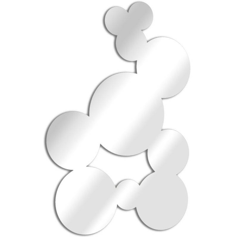 Miroir design bulles