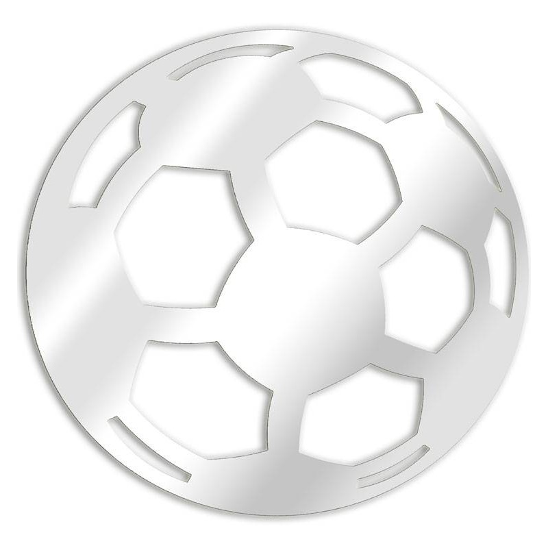 Decorative mirror football