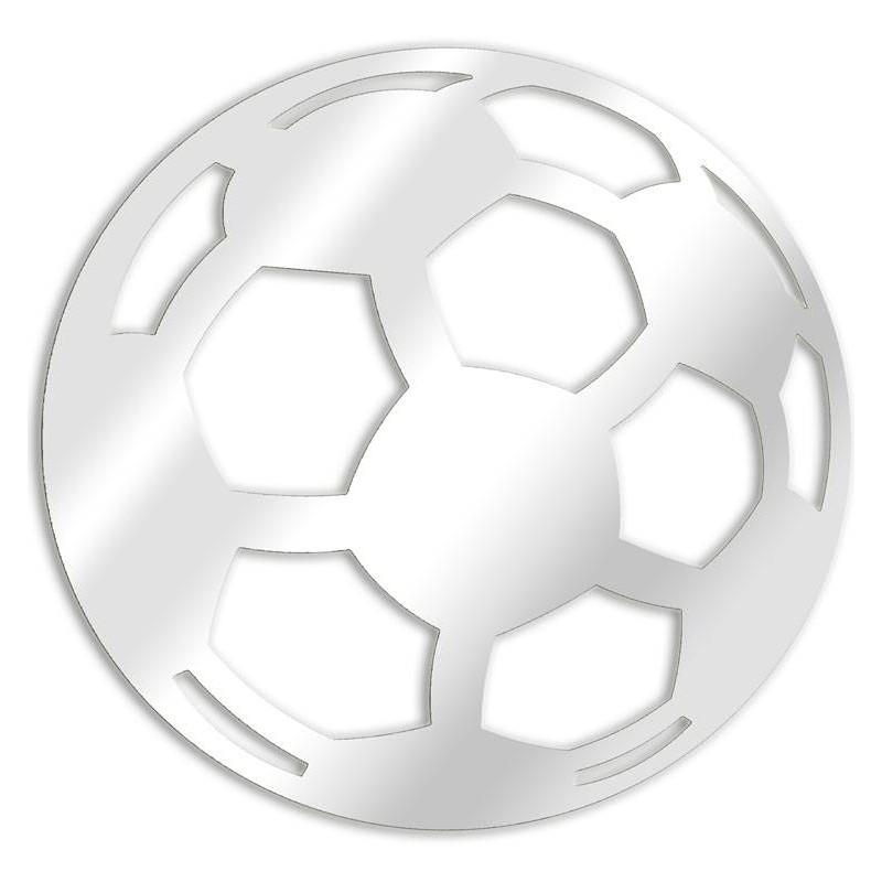 Dekorative Spiegel Fußball