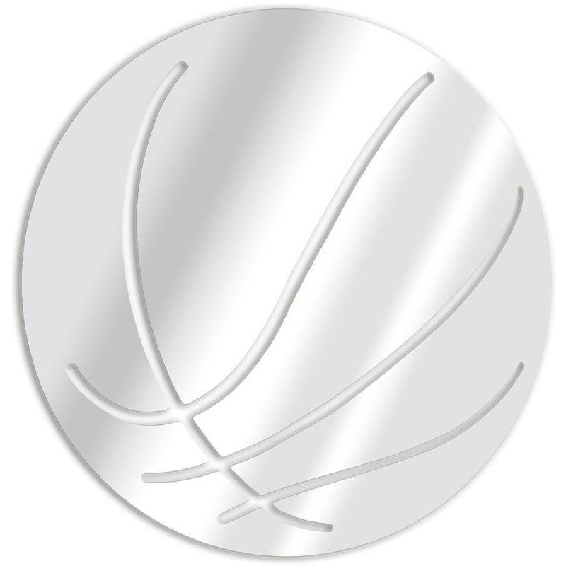 Miroir décoratif ballon de basket