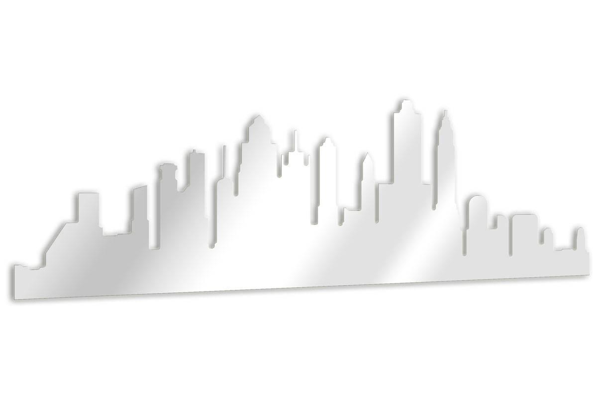 Miroir D Coratif Ville De New York Tendance Miroir Design