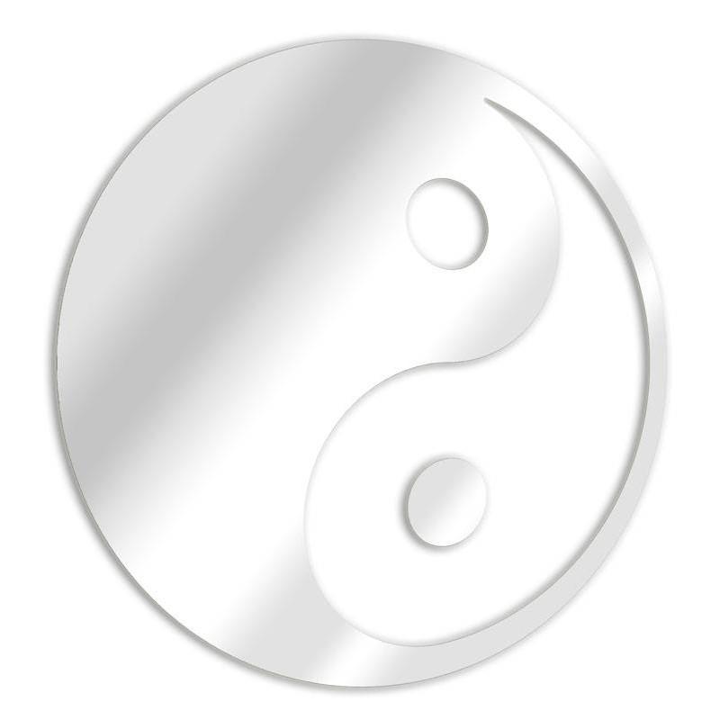 Yin Yang chino espejo decorativo