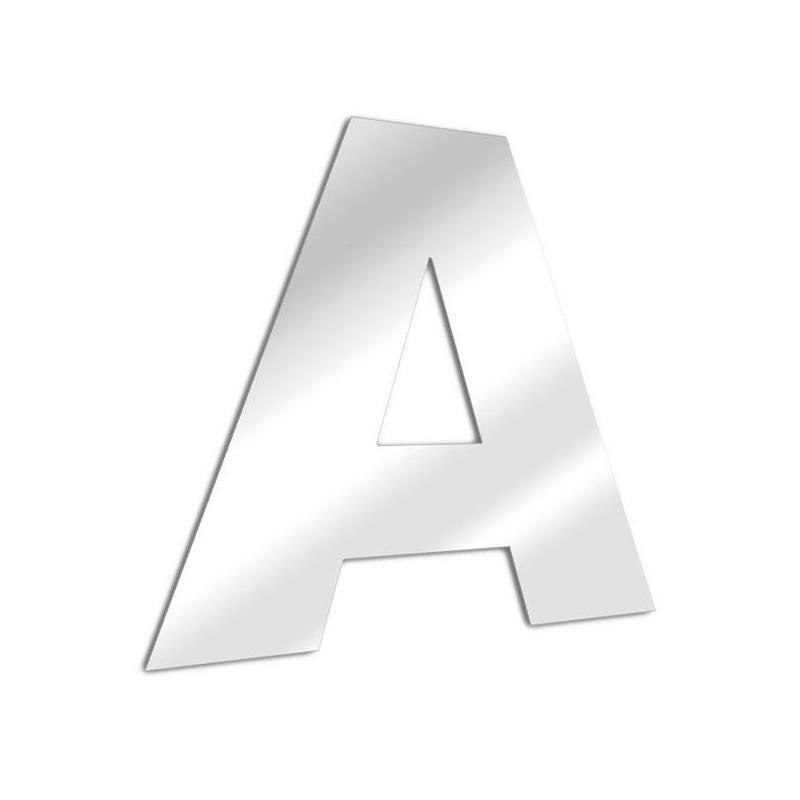 Miroir lettre A Arial