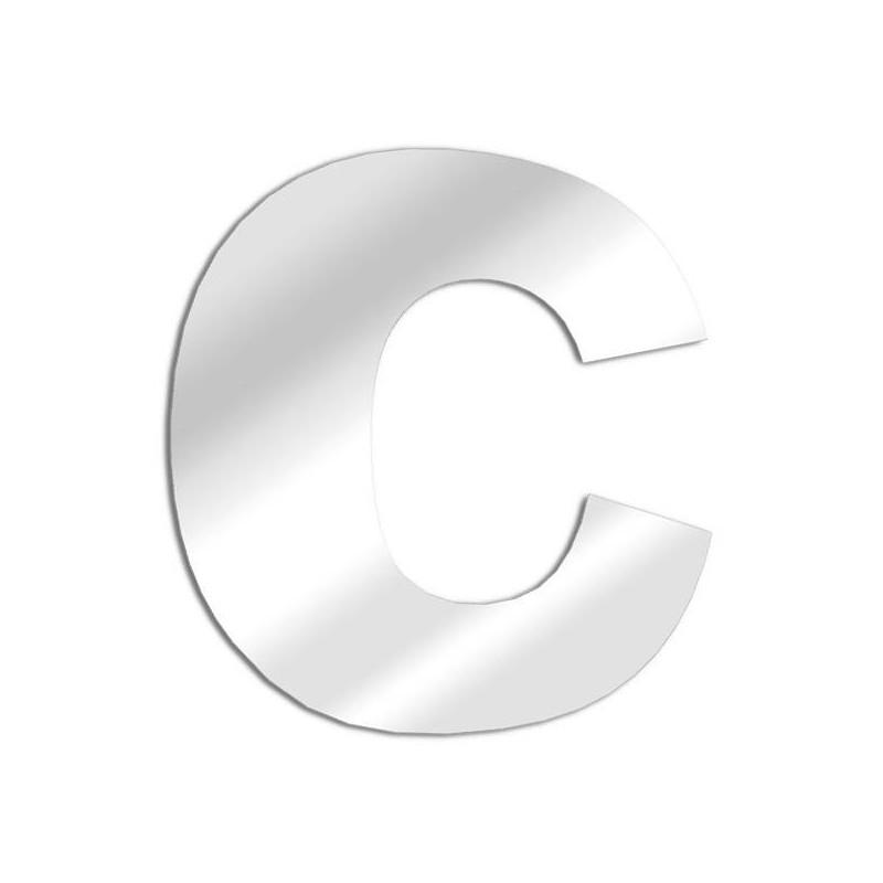 Specchio lettera C Arial