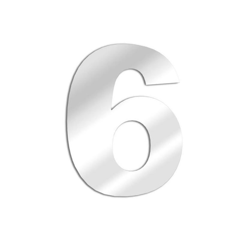 Numero Specchi 6 arial