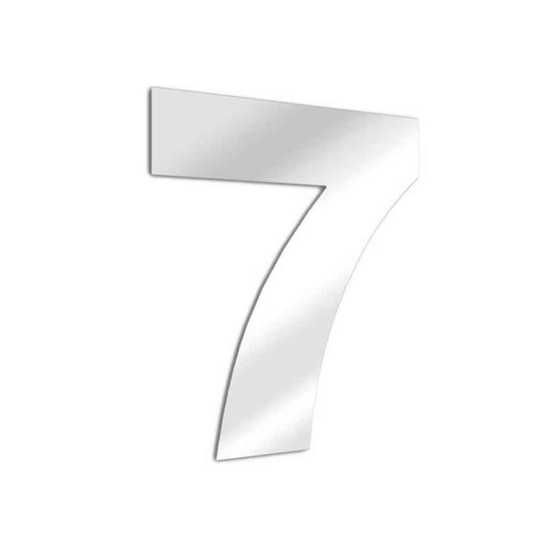 Numero specchi 7 arial