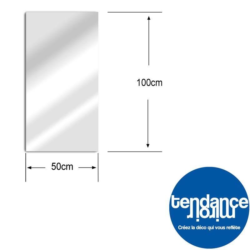 Giardino Specchio 100x50 cm acrilico
