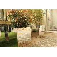 Cube miroir 49x49x50 cm