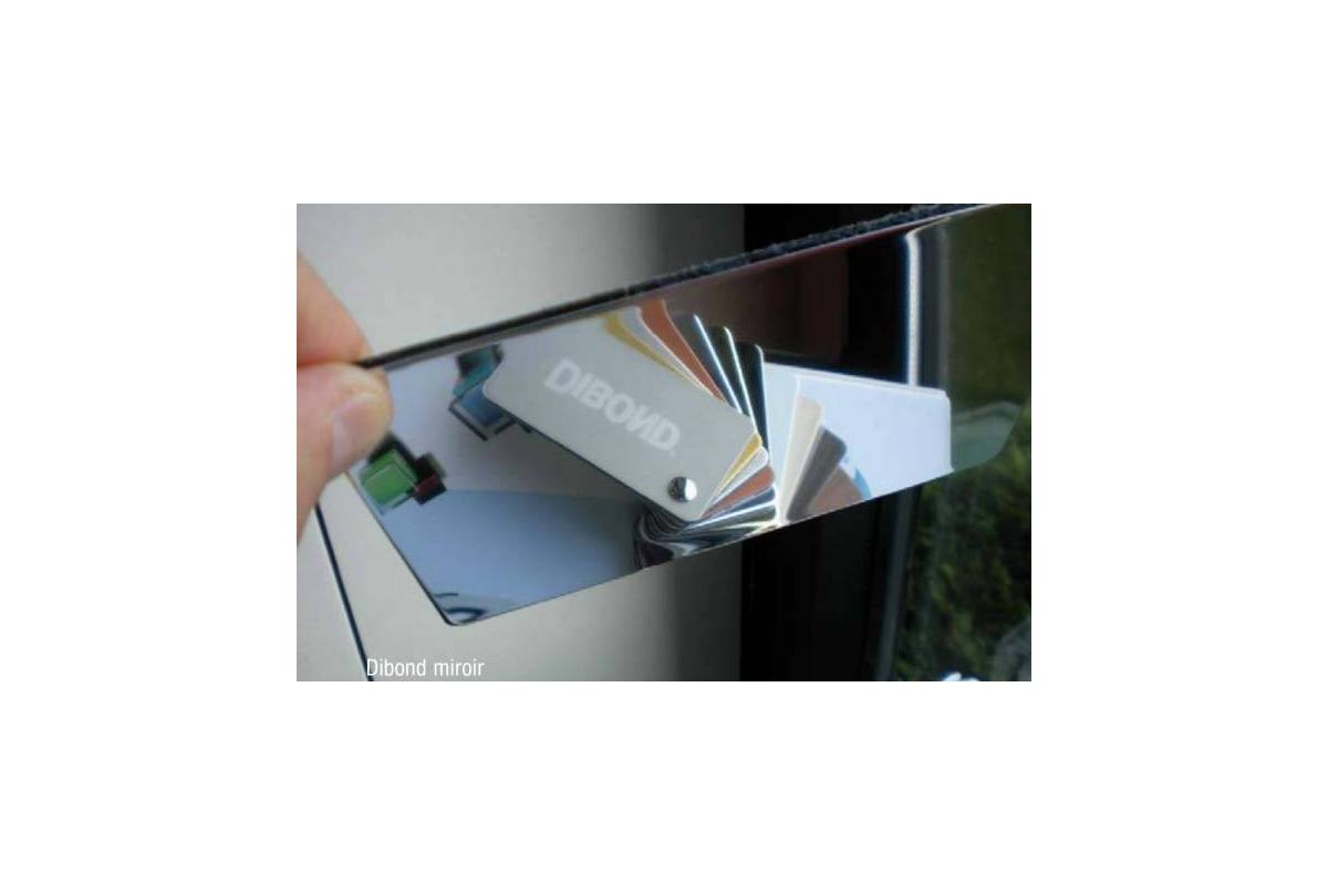 miroir aluminium sur mesure rond tendancemiroir. Black Bedroom Furniture Sets. Home Design Ideas