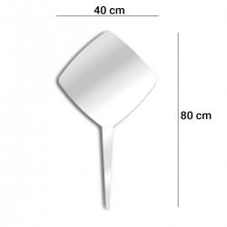 Specchio per piantare quadrato 40 cm